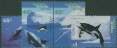 AAT SG108-11 Whales and Dolphins set of 4 including pair